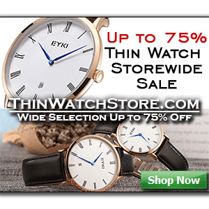 thinwatchstore ultra thin mens watches